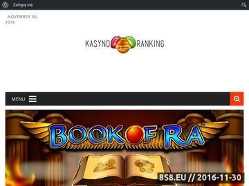 Zrzut strony Najlepszy kasynowy ranking