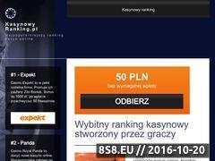 Miniaturka domeny kasynowyranking.pl