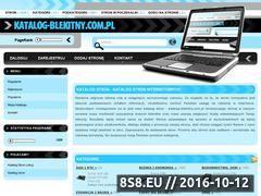 Miniaturka domeny www.katalog-blekitny.com.pl