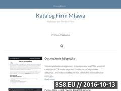 Miniaturka domeny www.katalog-mlawa.pl