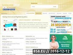 Miniaturka domeny katalog-stron.com.pl