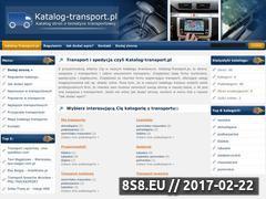 Miniaturka domeny www.katalog-transport.pl