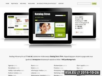 Zrzut strony Katalog.inforam.pl