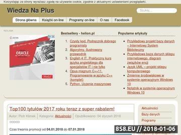 Zrzut strony Katalog polskiego internetu