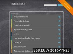 Miniaturka domeny katalog.slubnybukiet.pl