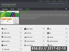 Miniaturka domeny www.katalogmaxi.pl