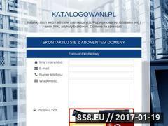Miniaturka domeny www.katalogowani.pl