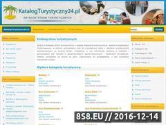 Miniaturka domeny www.katalogturystyczny24.pl