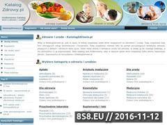 Miniaturka domeny www.katalogzdrowy.pl
