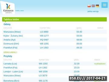 Zrzut strony Linie lotnicze w Polsce