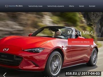 Zrzut strony Samochody nowe - Mazda