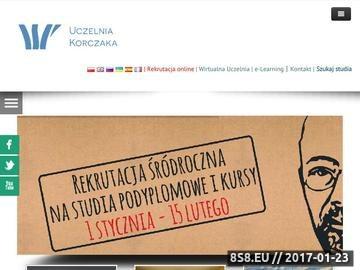 Zrzut strony WSP im. J. Korczaka