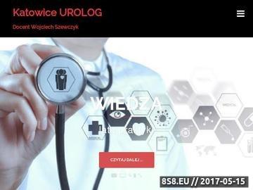 Zrzut strony Gabinet urologiczny w Katowicach