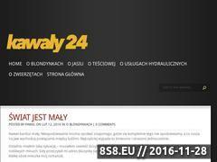Miniaturka domeny kawaly24.eu