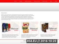 Miniaturka domeny www.kawamanuel.pl