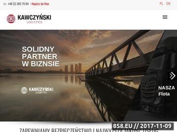 Zrzut strony Kawczyński - transport międzynarodowy