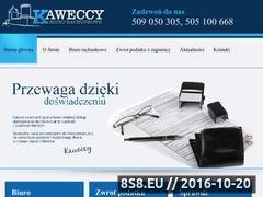 Miniaturka domeny www.kaweccygroup.pl