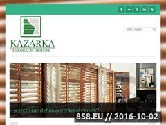Miniaturka domeny kazarka.pl