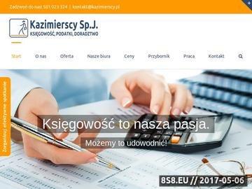 Zrzut strony Biuro rachunkowe