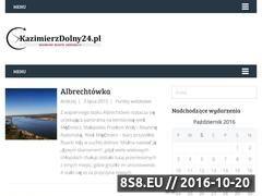 Miniaturka domeny www.kazimierzdolny24.pl