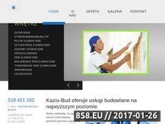 Miniaturka domeny kaziu-bud.pl