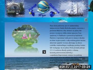 Zrzut strony Dąbki, Bobolin - Pokoje Wajer - noclegi nad morzem