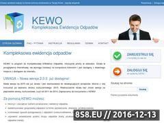 Miniaturka domeny www.kewo.codefusion.pl