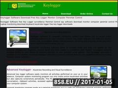 Thumbnail of Key logger software Website