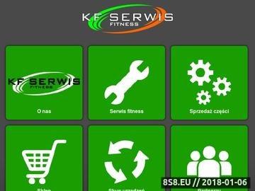Zrzut strony KF Serwis - rower treningowy
