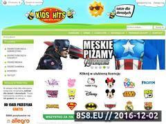 Miniaturka domeny www.kidshits.pl