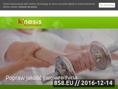 Thumbnail of Rehabilitacja Krakow - Kinesis - Fizjoterapia Website