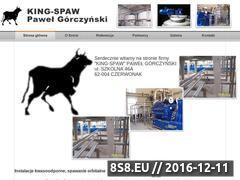 Miniaturka domeny king-spaw.pl
