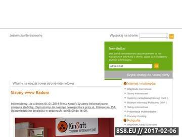 Zrzut strony Projektowanie stron WWW, sklepów i systemów dedykowanych