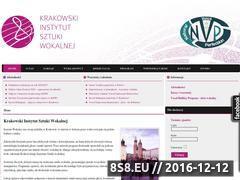 Miniaturka domeny www.kisw.edu.pl