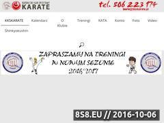 Miniaturka domeny kkskarate.pl
