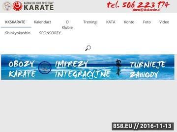Zrzut strony Treningi karate w Katowicach