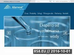 Miniaturka domeny www.klarwod.pl
