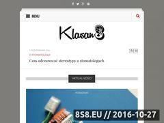 Miniaturka domeny www.klasan3.pl