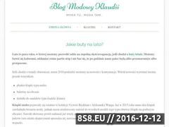 Miniaturka domeny klaudiastasiak.pl