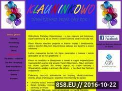 Miniaturka domeny www.klauninkowo.pl
