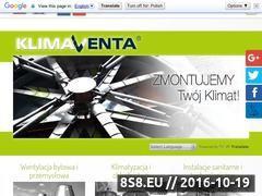 Miniaturka domeny www.klima-venta.pl