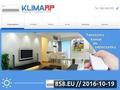 Miniaturka domeny klimarp.pl