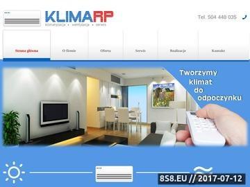 Zrzut strony Klimarp Łódź