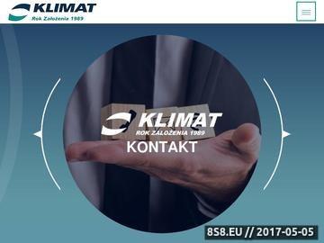 Zrzut strony KLIMAT serwis układów chłodniczych
