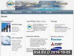 Miniaturka domeny klimatyzacja-justrelax.pl