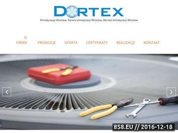 Zrzut strony DORTEX - serwis klimatyzacji Wrocław