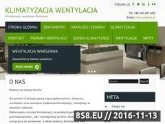 Miniaturka domeny www.klimatyzacjapolska.pl