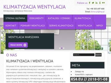 Zrzut strony Klimatyzacja, wentylacja Warszawa