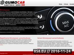 Miniaturka domeny www.klimatyzacjasamochodowawarszawa.pl