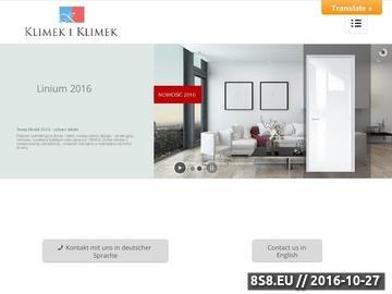 Zrzut strony Drzwi wewnętrzne, drzwi przesuwne szklane - klimek-klus.pl
